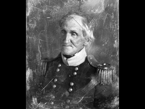 Daguerreotype Portraits of Early American Generals by Mathew Brady (1840