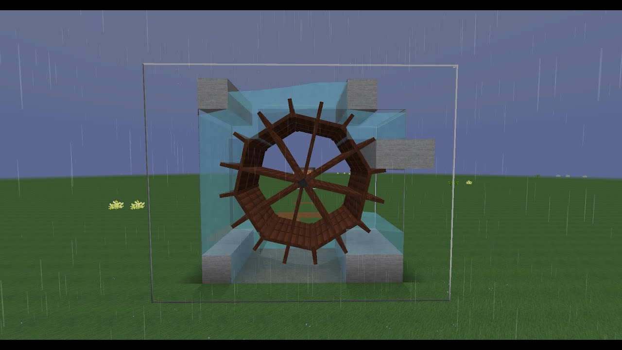 Modded Minecraft Tutorial GER Immersive Engineering Water Wheels Max Output YouTube
