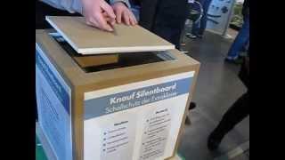 КНАУФ Silentboard - Звукоизоляция экстра-класса(Рекомендуется просмотр данного видео со звуком! Звукоизоляционные плиты КНАУФ Silentboard применяются во всех..., 2013-04-30T07:56:17.000Z)