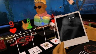 PokerStars VR Jump Scares FEAR WHAT LURKS BELOW!