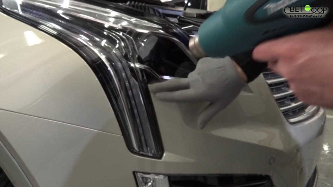 Как наклеить защитную пленку на автомобиль своими руками