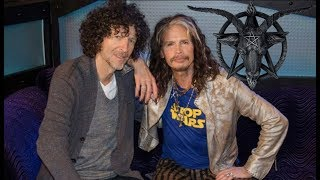 YOU NEED TO SEE THIS IF YOU'VE EVER LISTENED TO AEROSMITH OR HOWARD STERN...
