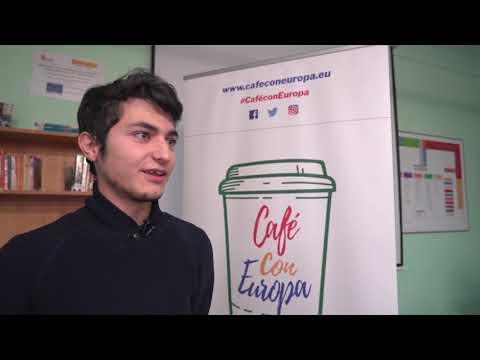 "Café con Europa en Cuéllar: ""Somos europeos y tenemos que sentirnos europeos"""