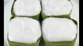 Thai Dessert Taro Root Pudding