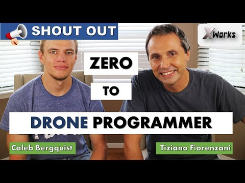 Become a DRONE PROGRAMMER | Coupon to the Video Course | With Caleb Bergquist