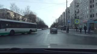 Инструктор по вождению с курсантом автошколы.(, 2015-02-11T21:40:33.000Z)