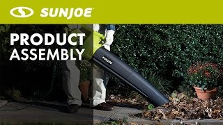 SBJ604E- Sun Joe 3-in-1 Electric Blower/Vac/Shredder - Let's Open the Box - How to Assemble