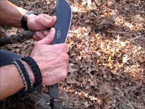 Fox Parang Bushcraft Jungle Knife Review