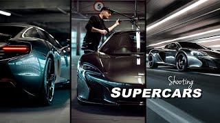 How to Shoot CAR PHOTOGRAPHY - McLaren 650S!!