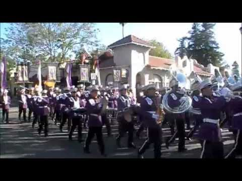 Archbishop Riordan High School Marching Band at the Foothill Band Review 2012