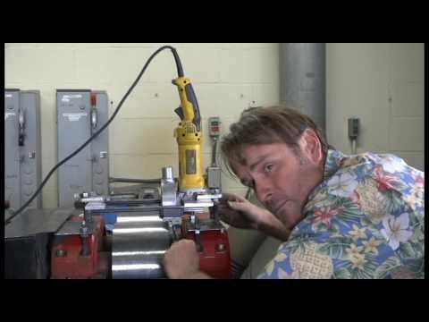 rock crusher roller mill repair grinding wheels smooth DIY