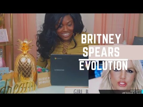 [REQUESTED REACTION] EVOLUTION OF BRITNEY SPEARS