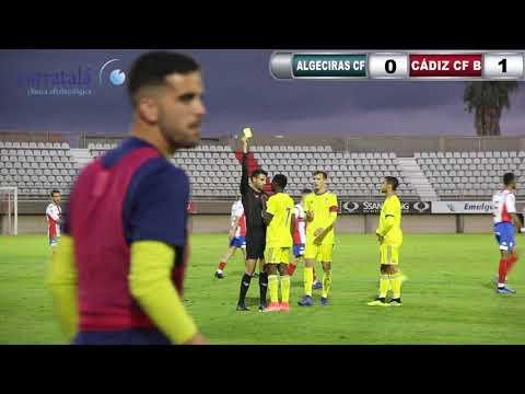El Cádiz B vence al Algeciras en el Nuevo Mirador