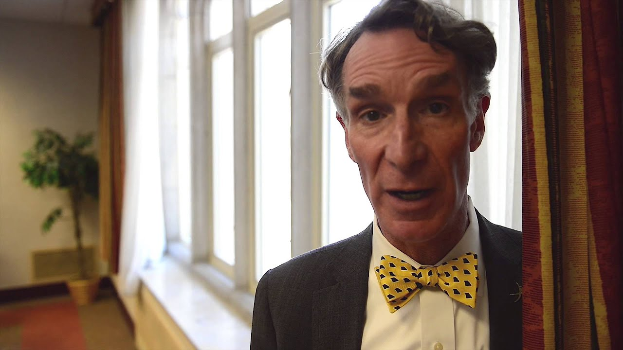Bill Nye On Decoding Science Youtube