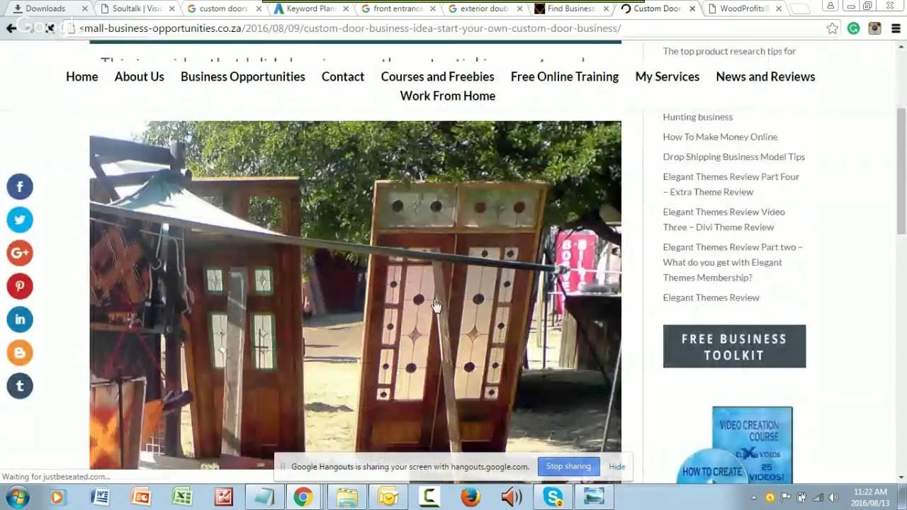 Custom Doors Boston Ma A Business Idea Explored Youtube