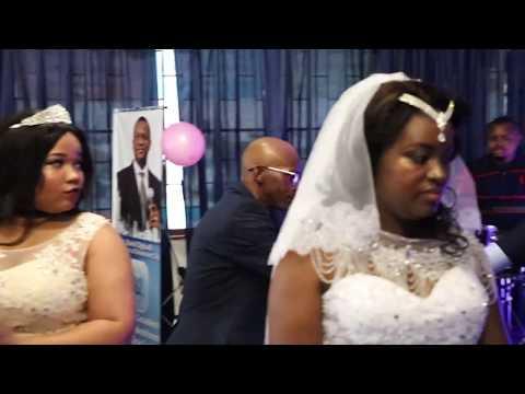 Mpho weds Ebuka