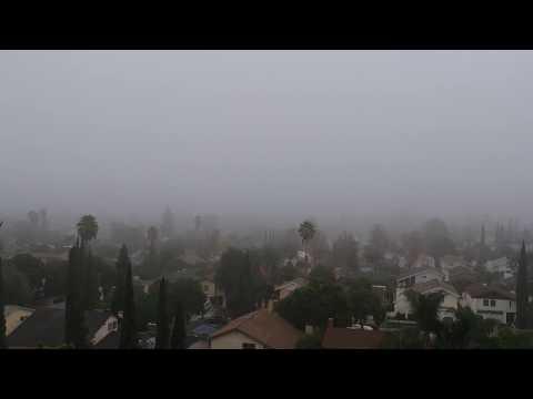 San Fernando Valley. Sunday morning, October 29, 2017