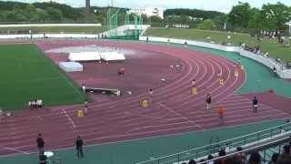 2013静岡県東部高校総体女子4x100mR決勝