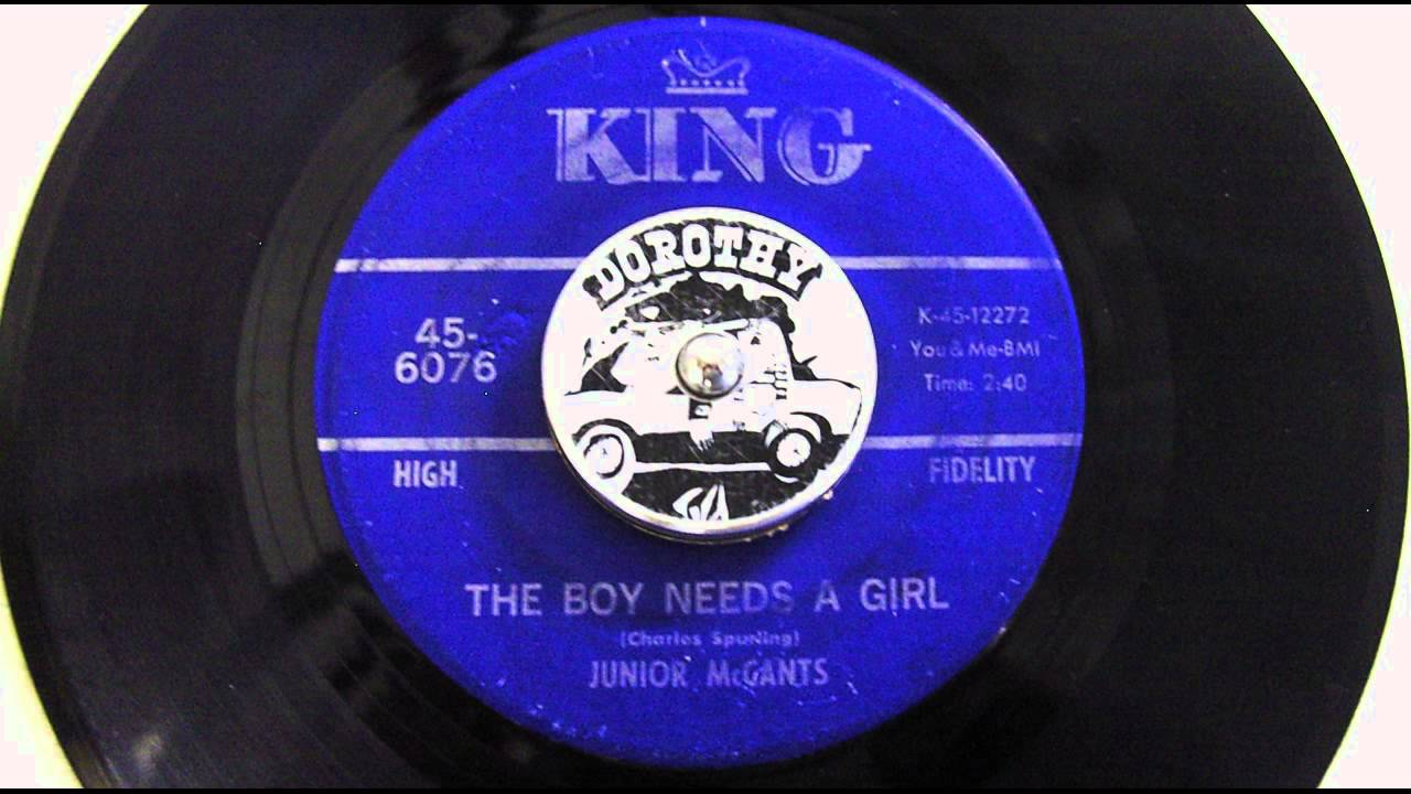 Junior McCants The Boy Needs A Girl