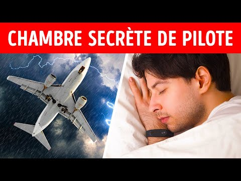 L'Endroit Secret Où Dorment Les Pilotes Pendant Les Vols