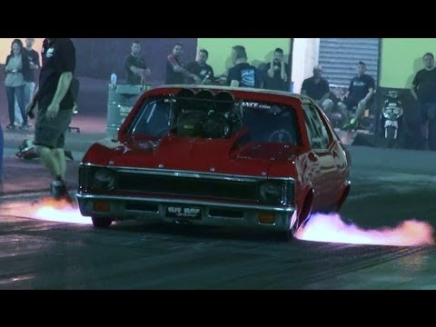 MIKE DUGGAN OUTLAW 10.5 NOVA TESTING AT SYDNEY DRAGWAY 6.3.2014