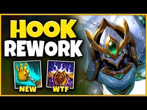 *NEW HOOK* BLITZCRANK IS NOW AN AP ASSASSIN (RIOT WTF) - League of Legends