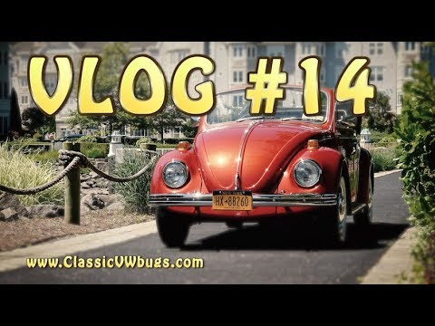 Classic VW BuGs VLOG #14 Vintage Electric Beetle & Low Mile Classics FOR SALE