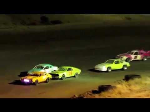Desert Thunder Raceway Mini Stock Main Event 9/30/17
