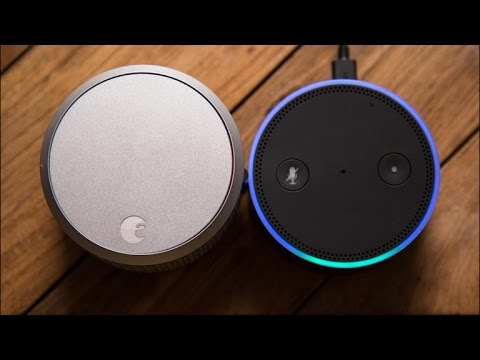 Testing out the new August skill for Alexa
