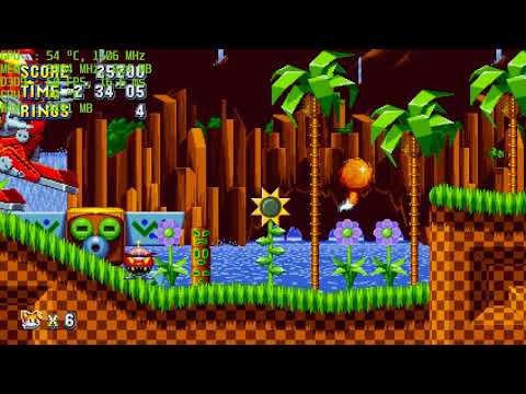 Sonic Mania PC Version Tails Gameplay