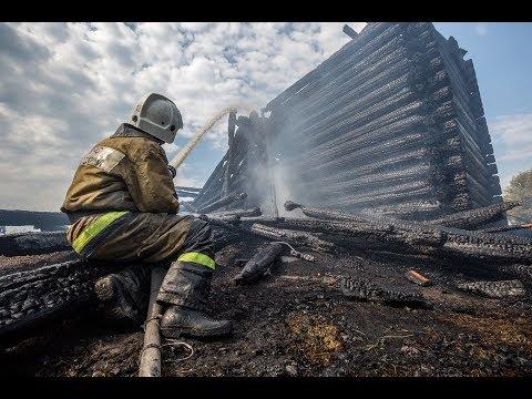 Пожар в Кондопоге. Сгорела Успенская церковь. 1774  - 2018