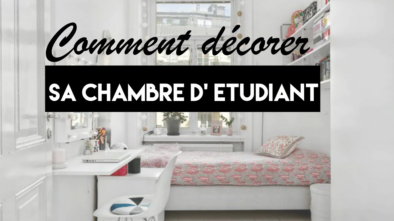 Back to school | Comment décorer sa chambre d\'étudiant - YouTube