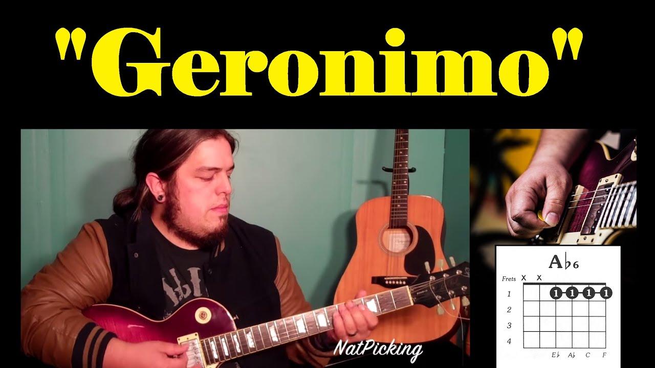 Sheppard Geronimo Guitar Tutorial Youtube