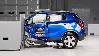 2015 Buick Encore driver-side small overlap IIHS crash test