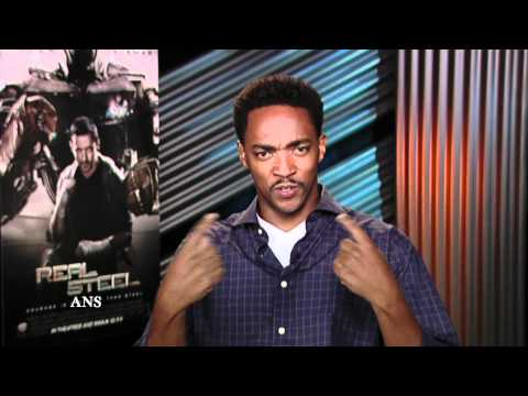 ANTHONY MACKIE INTERVIEW: REAL STEEL