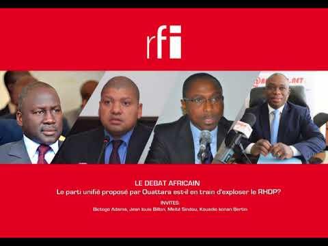 Le Débat Africain/ Le parti unifié proposé par Ouattara est-il en train d'exploser le RHDP?