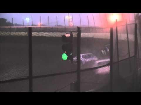 Kankakee County Speedway (8/1/12) UMP Stock Car A-Main
