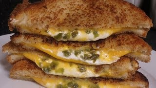 Jalapeno Popper Grilled Cheese