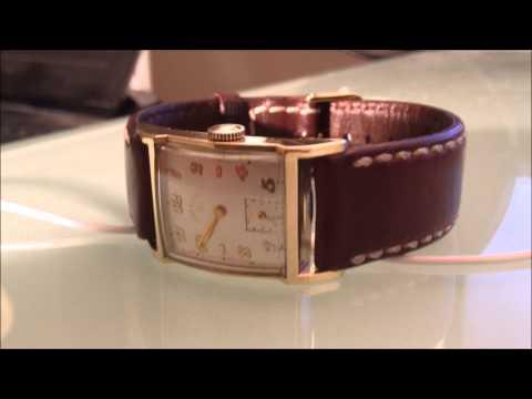 Circa 1947-1950 Lord Elgin Caliber 626 21 Jewel Watch Restore.
