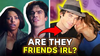 The Vampire Diaries: Cast Friendships, Feuds And Love Affairs | ⭐ossa