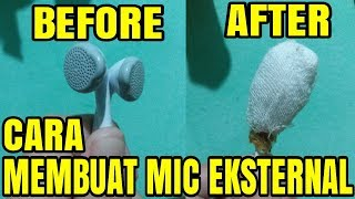 Tutorial Cara Membuat Mic Dari Headset / Earphone !