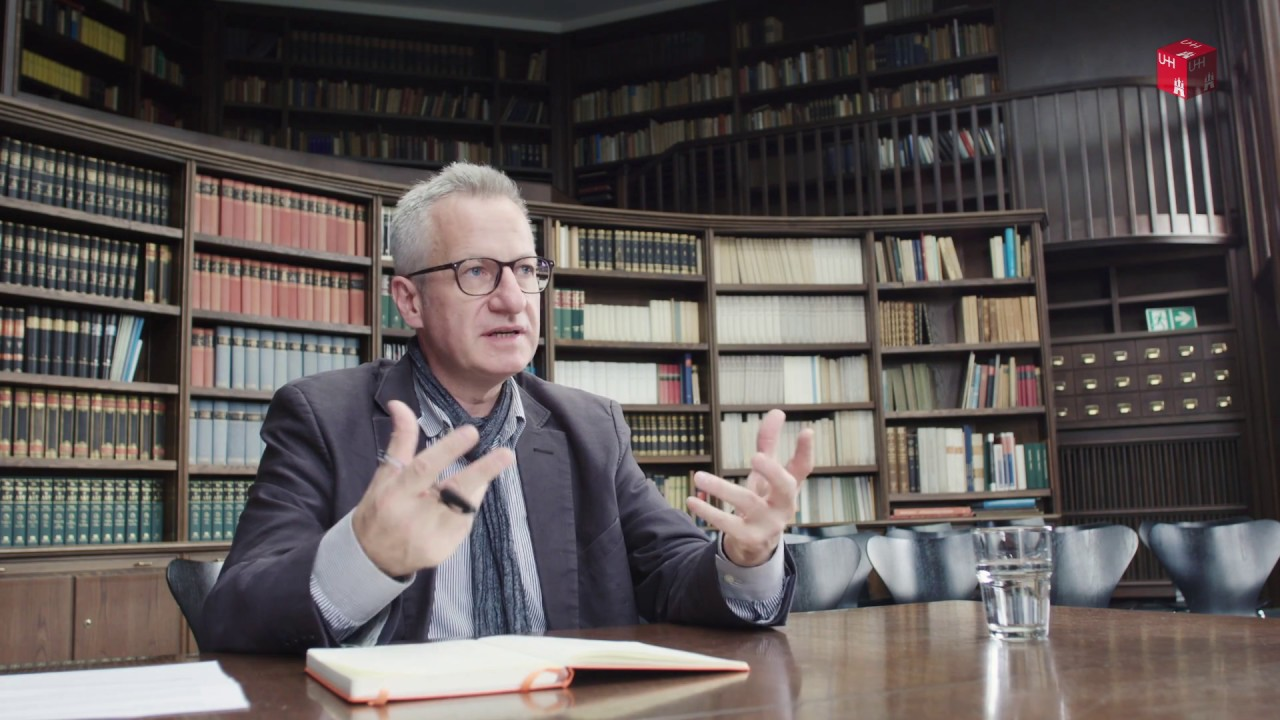 Warburg Haus, 2016: Interview Peter Krieger