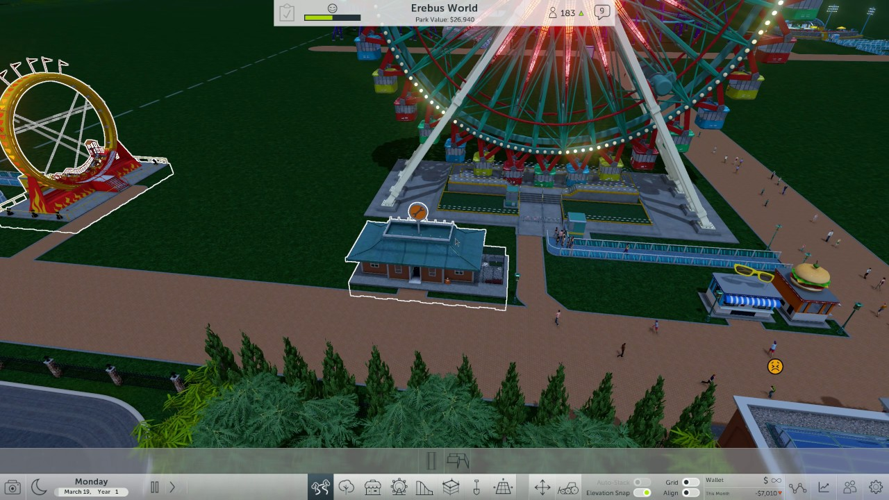RollerCoaster Tycoon World (PC) Gameplay