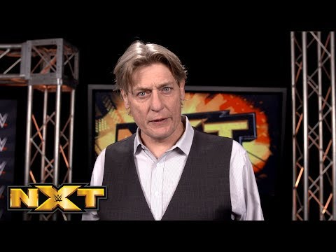 William Regal announces that Black will face NXT Champion Almas at TakeOver: Exclusive, Mar. 7, 2018