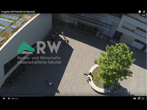 Imagefilm RW-Fakultät Uni Bayreuth