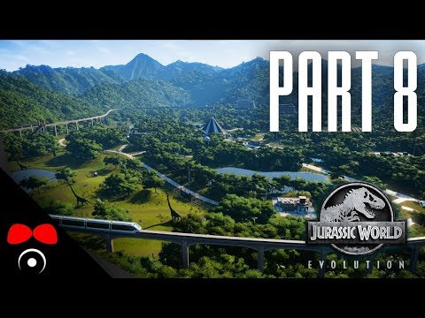 DINOSAUŘÍ ARÉNA! | Jurassic World: Evolution #8