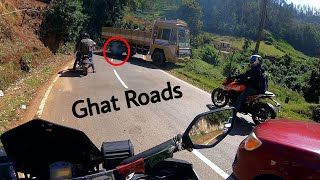 Lorry Struck In Ooty Ghats - Ooty To Avalanche Lake | Drone Shots | Duke 250 |Tamil| Enowaytion Plus
