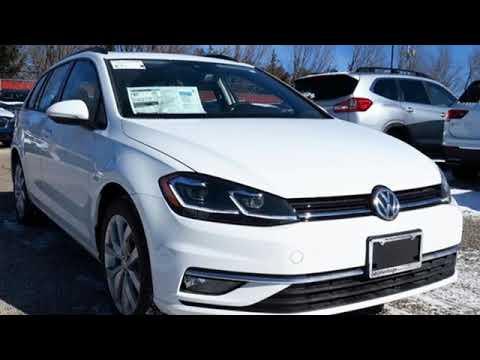 New 2019 Volkswagen Golf SportWagen Baltimore, MD #5V904540