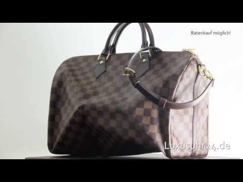 322d2758b0a9 Louis Vuitton Speedy 35 mit Schulterriemen N41182 Luxusuhr24 Ratenkauf ab  20 Euro Monat