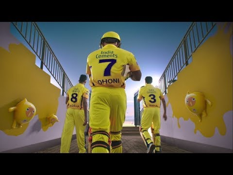 Nippon Paint   Yellow Podu Whistle Podu   CSK